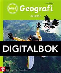 PULS Geografi 4-6 Sverige Grundbok Digital, tredje upplagan