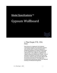 Model Specifications: Gypsum Wallboard