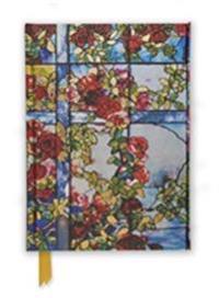 Tiffany Trellised Rambler Roses Foiled Journal