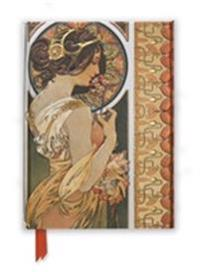 Mucha Cowslip and Documents Foiled Journal