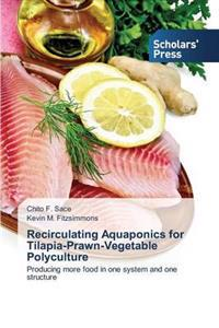 Recirculating Aquaponics for Tilapia-Prawn-Vegetable Polyculture