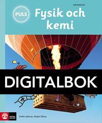 PULS Fysik och kemi 4-6 Grundbok Digital, tredje upplagan