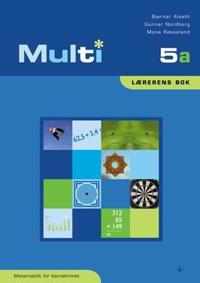 Multi 5a; lærerens bok - Bjørnar Alseth, Gunnar Nordberg, Mona Røsseland   Inprintwriters.org