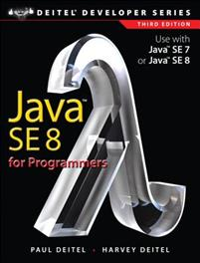 Java SE 8 for Programmers
