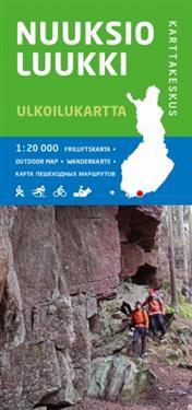 Nuuksio-Luukki ulkoilukartta 1:20 000