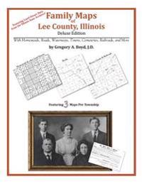 Family Maps of Lee County, Illinois
