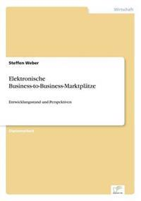 Elektronische Business-To-Business-Marktplatze
