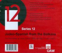 Judeo-Spanish from the Balkans: The Recordings by Julius Subak (1908) and Max A. Luria (1927)