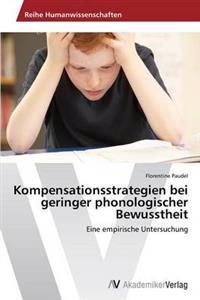 Kompensationsstrategien Bei Geringer Phonologischer Bewusstheit