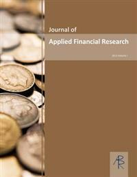Journal of Applied Financial Research Volume I 2013