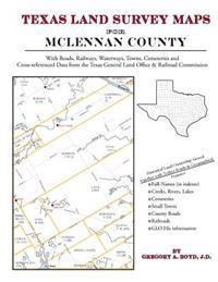 Texas Land Survey Maps for McLennan County