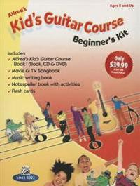 Alfred's Kid's Guitar Course 1: The Easiest Guitar Method Ever!, Boxed Set (Starter Pack)