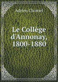 Le College D'Annonay, 1800-1880