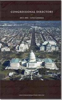 Official Congressional Directory: 113th Congress