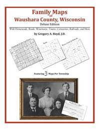 Family Maps of Waushara County, Wisconsin