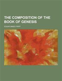 The Composition of the Book of Genesis
