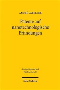 Patente Auf Nanotechnologische Erfindungen