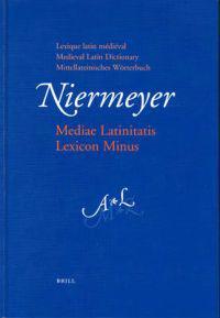 Mediae Latinitatis Lexicon Minus