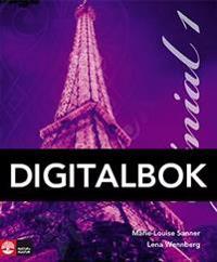 Génial 1 (2:a uppl) Allt-i-ett-bok Interaktiv