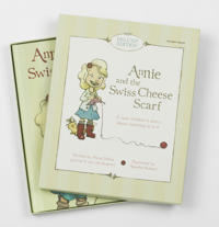 Annie and the Swiss Cheese Scarf Set