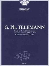 Telemann: Sonata in C Major for Treble (Alto) Recorder and Basso Continuo Twv41: C2