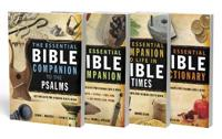 The Essential Bible Companion + the Essential Bible Dictionary + the Essential Companion to Life in Bible Times + the Essential Bible Companion to the Psalms