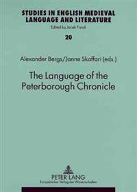 The Language of the Peterborough Chronicle