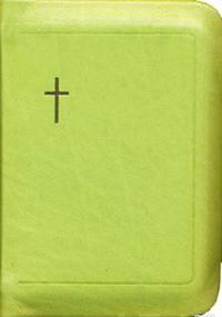Raamattu (pienoisraamattu, 2897jrh, limenvihreä, vetoketju, reunahakemisto, sivukoko 96x142 mm)