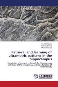 Retrieval and Learning of Ultrametric Patterns in the Hippocampus