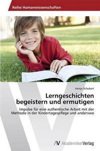 Lerngeschichten Begeistern Und Ermutigen