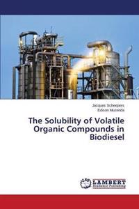The Solubility of Volatile Organic Compounds in Biodiesel