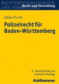 Polizeirecht Fur Baden-Wurttemberg