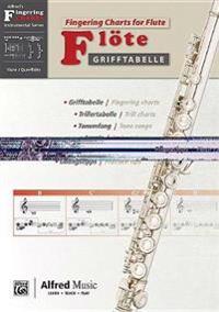 Grifftabelle Für FLöte [fingering Charts for Flute]: German / English Language Edition, Chart