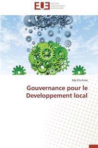 Gouvernance Pour Le Developpement Local