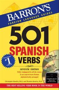 Barron's 501 Spanish Verbs [With CDROM and CD (Audio)]