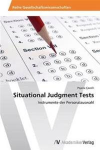 Situational Judgment Tests