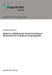 Modell zur Abbildung der Kostenentwicklung in Wertströmen bei veränderten Eingangsgrößen.