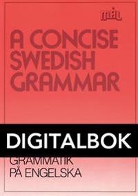 Mål Svensk grammatik på engelska Digital u ljud