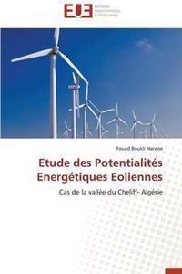 Etude Des Potentialit�s Energ�tiques Eoliennes