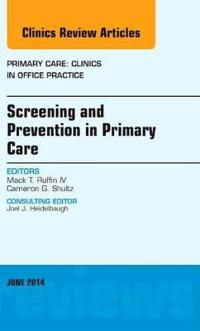 Screening and Prevention in Primary Care