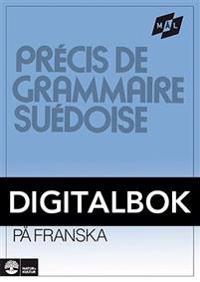 Målgrammatiken Svensk grammatik på franska Digital u ljud (12mån)