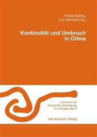 Kontinuitat Und Umbruch in China
