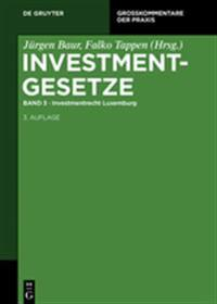 Investmentrecht Luxemburg