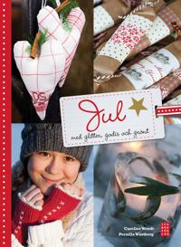 Jul med glitter, godis och grönt