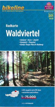 Bikeline Radkarte Waldviertel 1 : 75 000