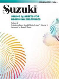 String Quartets for Beginning Ensembles, Vol 1