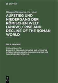 Sprache Und Literatur (Literatur Der Julisch-Claudischen Und Der Flavischen Zeit [forts.])