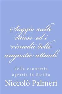 Saggio Sulle Cause Ed I Rimedii Delle Angustie Attuali: Della Economia Agraria in Sicilia