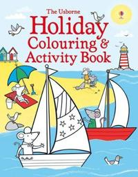 Holiday colouring and activity book
