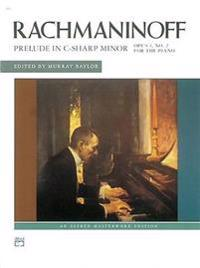 Rachmaninoff: Prelude in C-Sharp Minor: Opus 3, No. 2